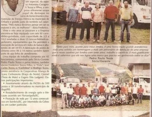 Tezza Montagens Elétricas Ltda.
